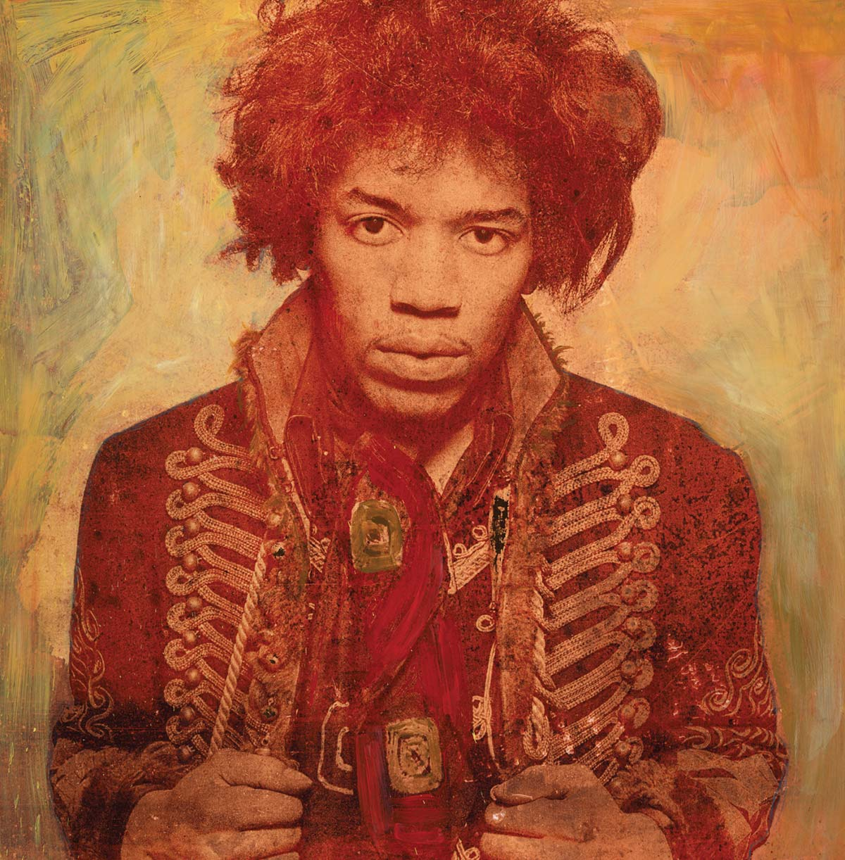 Sun Gold ChromaLuxe featuring Jimi Hendrix