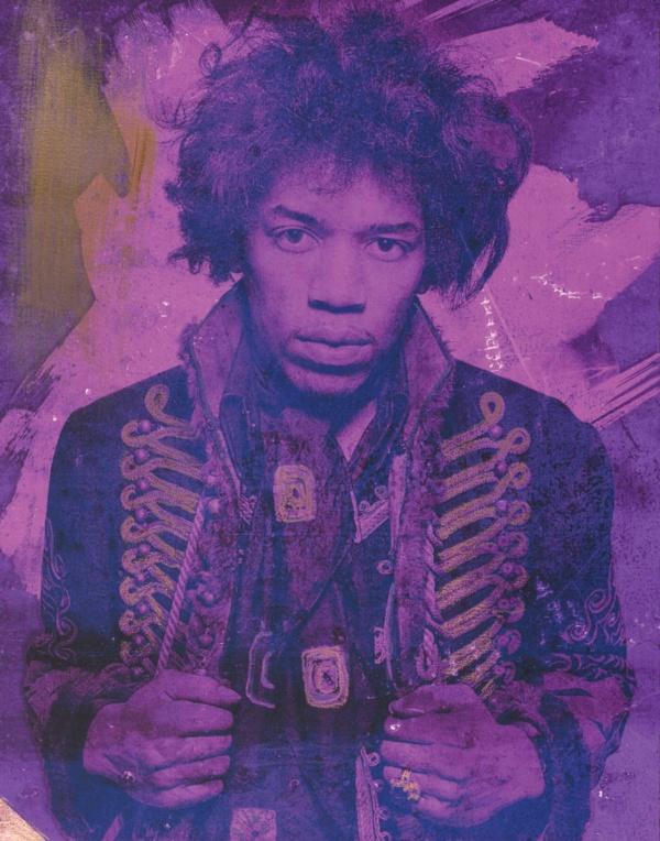 Mr Jimi Purple Violet 2017 featuring Jimi Hendrix