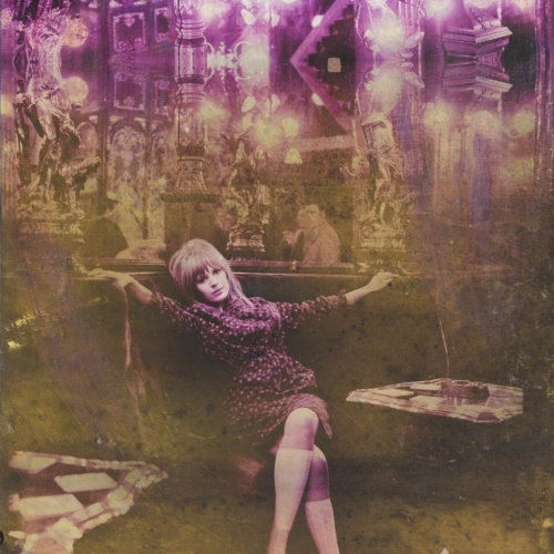 Marianne with Diamonds – Electric Violet 2017 Canvas