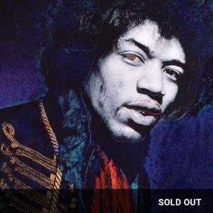 Midnight Blue ChromaLuxe featuring Jimi Hendrix
