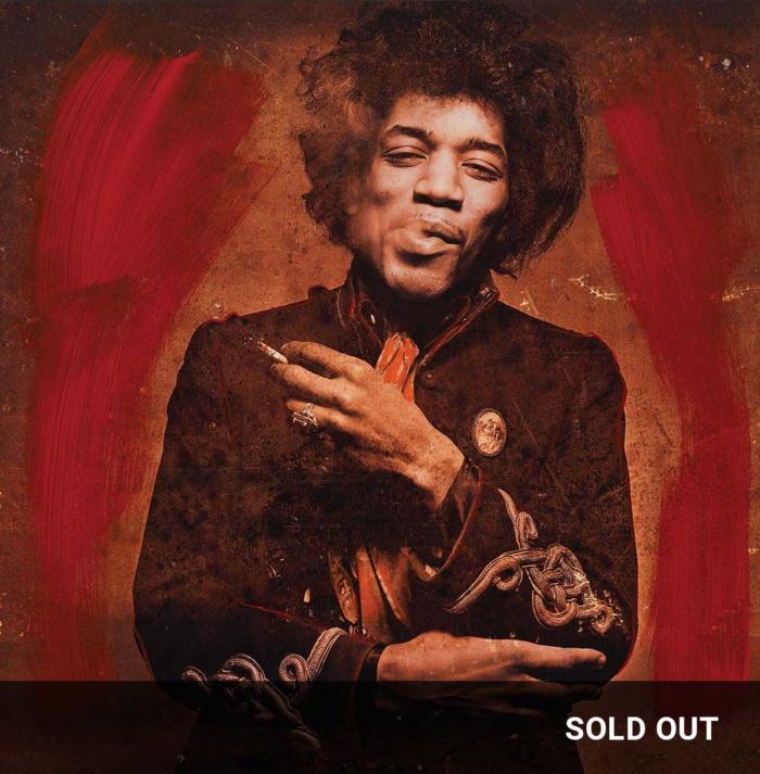 Smoking Red ChromaLuxe featuring Jimi Hendrix