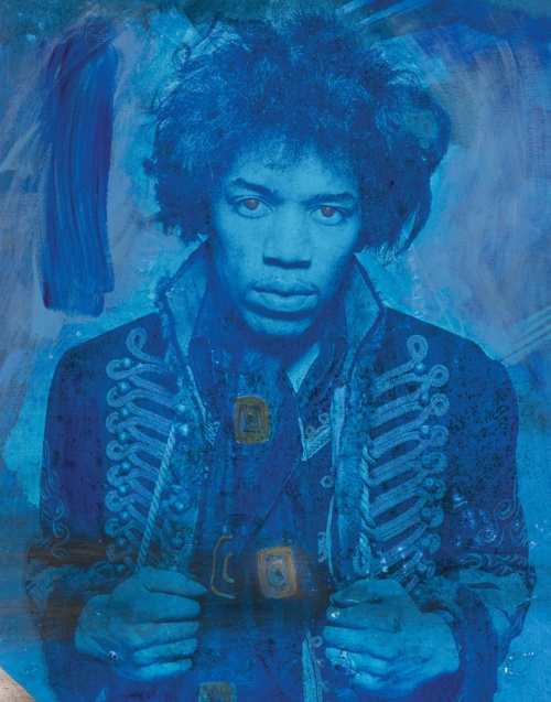 Mr Jimi Med Blue featuring Jimi Hendrix