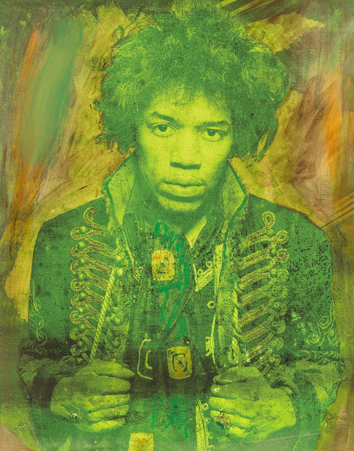 Mr Jimi Green Gold 2017 featuring Jimi Hendrix