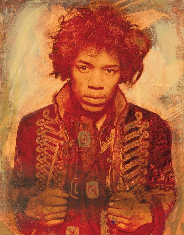 Mr Jimi Sunflower Gold 2017 featuring Jimi Hendrix