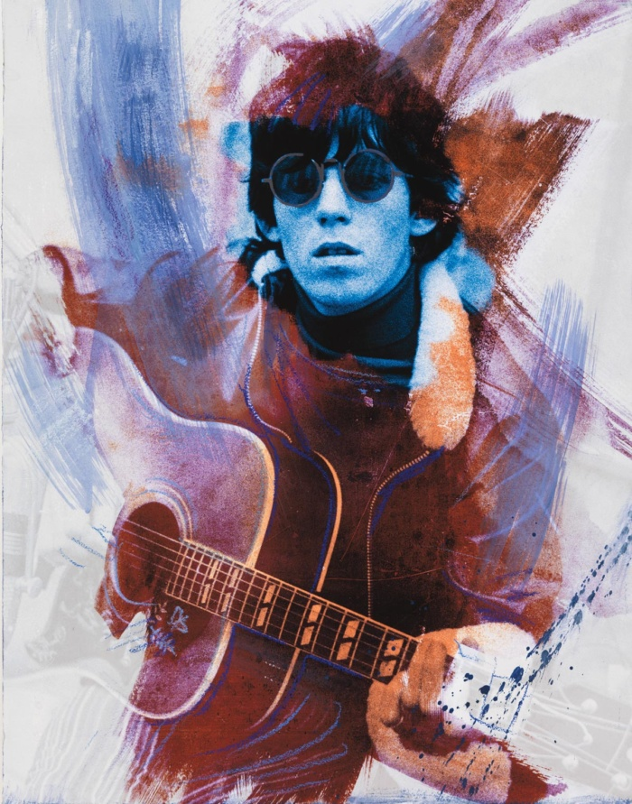 Keith Splash – Cinema Blue 2017 featuring Keith Richards
