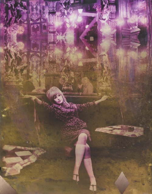 Marianne with Diamonds – Electric Violet 2017 featuring Marianne Faithful