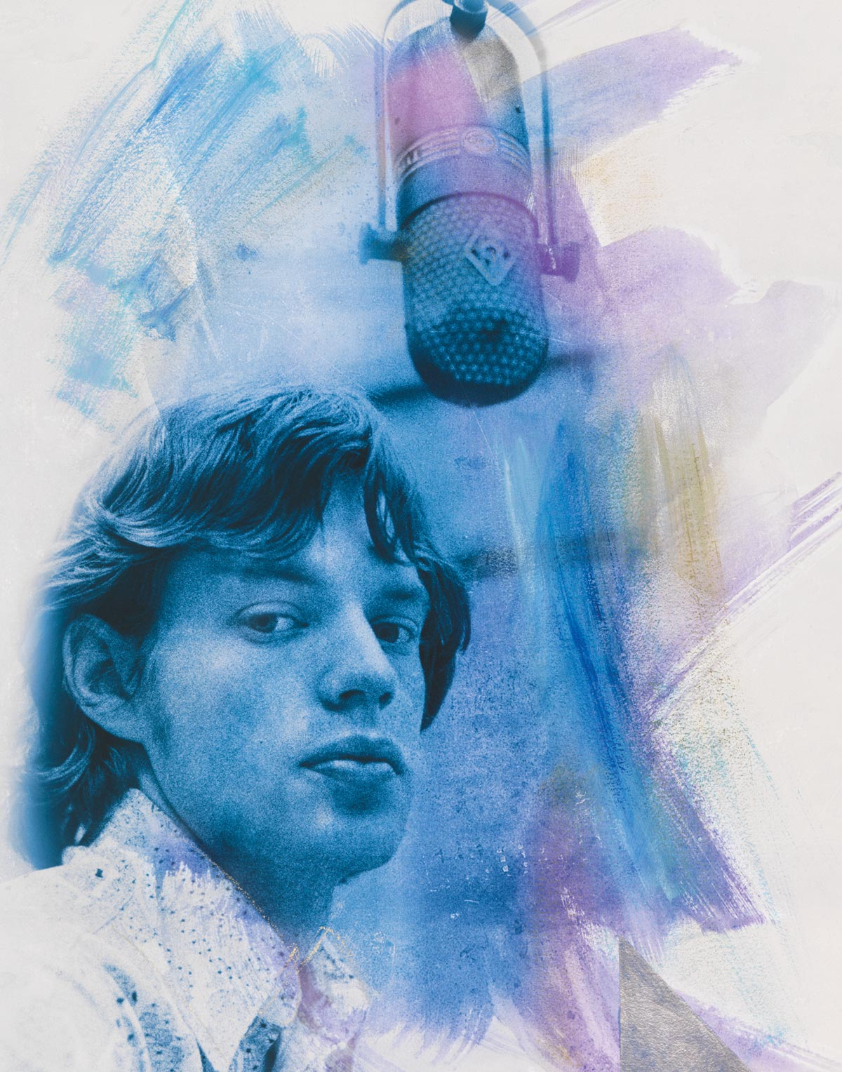 Mick Splash Blue Diamond featuring Mick Jagger