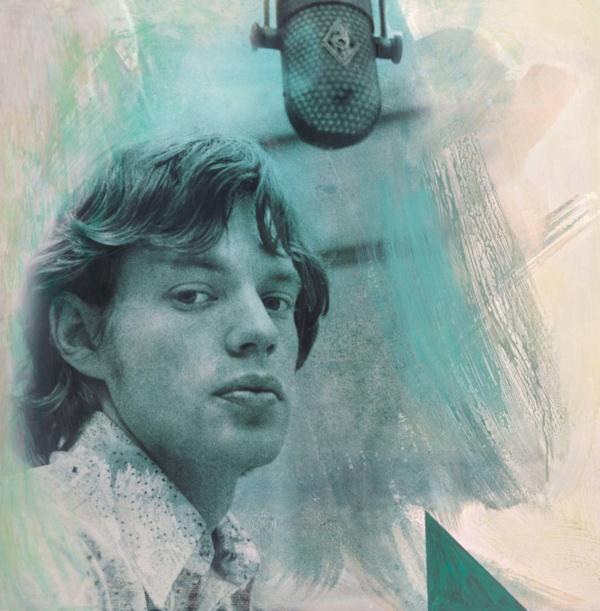 Mick Rimbaud Green 2017 ChromaLuxe featuring Mick Jagger